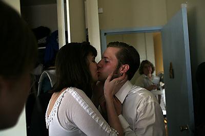 Pre-Wedding Kisses